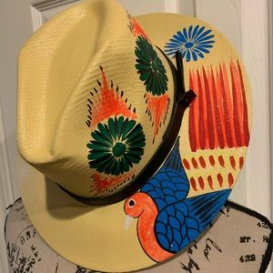 Hand painted summer hats